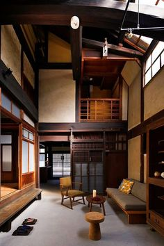 Japanese living rooms - 12 Unique Japanese House Design Traditional That Simple And Calmness – Japanese living rooms Japanese Living Room Design Ideas, Japanese Living Rooms, Small Room Design, Living Room Designs, Japanese Style House, Traditional Japanese House, Traditional Interior, Small Japanese House, Japanese Spa
