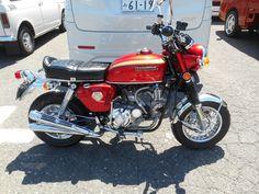 Honda Cb750, Honda Motorcycles, Cars And Motorcycles, Custom Mini Bike, Custom Bikes, Moto Car, Japanese Motorcycle, Pit Bike, Go Kart