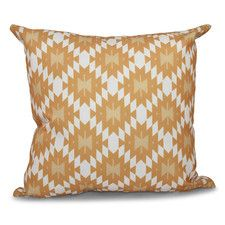 Luna Jodhpur Kilim Geometric Outdoor Throw Pillow