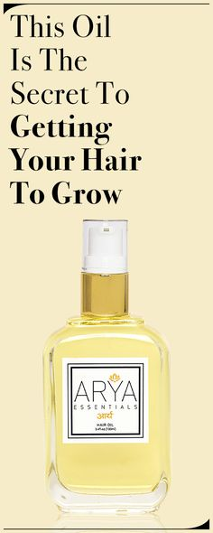 This Oil Is The Secret To Getting Your Hair To Grow - Hair Maintenance - hair How To Grow Eyebrows, Healthy Oils, Stylish Hair, Hair Oil, How To Do Nails, Pretty Hairstyles, Hair Hacks, Hair And Nails, The Secret