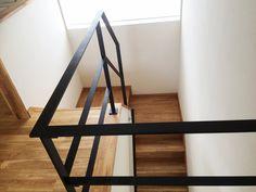 コの字の階段 Decoration, Modern Design, Stairs, Shelves, Table, Room, House, Furniture, Home Decor
