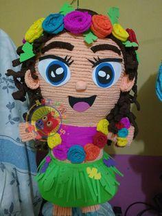 Piñata hawaiana.