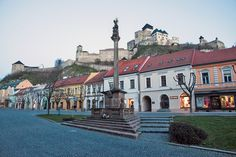 Trenčín is one of the most important and oldest cities in Slovakia. It is major commercial, cultural, economical and sport centre of Váh region. Old City, Eastern Europe, Czech Republic, Castles, Third, Wanderlust, Mansions, History, House Styles
