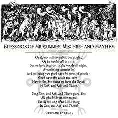 A Mischievous Midsummer to All - The Witch of Forest Grove