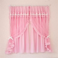Custom Luxury Modern Princess Chinese Sheer Curtains For Living Room Child Tulle Window Curtain For Kids Bedroom Cortinas Drapes Pink Bedroom Curtains, Bed Curtains, Sheer Curtains, Bedroom Decor, Cotton Curtains, Pink Bedroom For Girls, Pink Bedrooms, Kids Bedroom, Princess Curtains