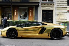 This £4 Million Golden Lamborghini Is Probably the Worlds Most Expensive Car - BlazePress