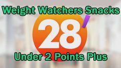 28 Weight Watcher Snacks under 2 Points Plus
