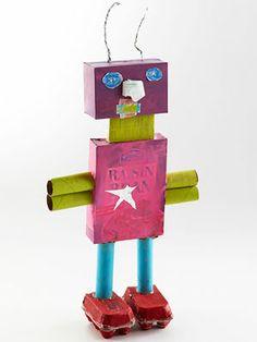 Build a Cardboard Robot