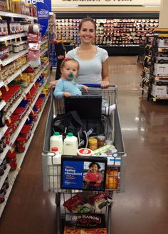 A Budget Mom's Trip to the Grocery Store - Shares lots of good tips for saving money on groceries!! :)