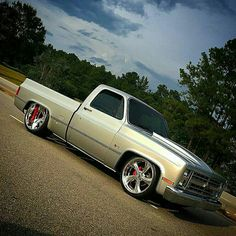 Ronald Tarlton Oxford NC's Most everything is custom and he did one hell of a job on this custom truck. 1984 Chevy Truck, Custom Chevy Trucks, C10 Trucks, Chevy Pickup Trucks, Classic Chevy Trucks, Chevy C10, Chevy Pickups, Chevrolet Trucks, Dropped Trucks