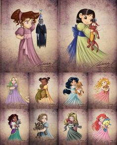Disney Princesses (Thought you all would enjoy these! Some are repeats, but still enjoyable :. Disney Princesses (Thought you all would enjoy these! Some are repeats, but still enjoyable :) ) , Disney Pixar, Disney Animation, Walt Disney, Disney Fan Art, Disney And Dreamworks, Disney Magic, Disney Villains, Punk Disney, Disney Movies