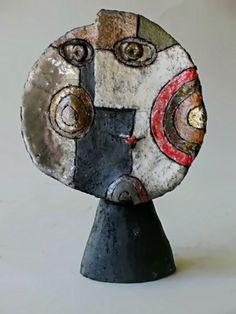 Ceramic cubist sculpture – Roger Capron, Vallauris (via Cubism - ceramic and sculpture)
