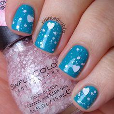 Painted Nubbs: Sinful Colors Professional Flirt With Hearts Collection Love Sprinkles LE
