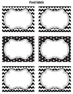 etiqettes deco mariage noir blanches étiquettes diy gratuites a imprimer motifs