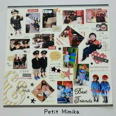 Making an album with KidZania Photos-Part 卒園 アルバム - 結婚式 You And I, Best Friends, Photo Wall, Magic, Album, Deco, Frame, How To Make, Photography