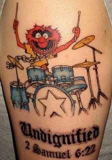Animal (Muppet) tattoo