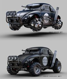 ArtStation - TOP or BOTTOM? VW BEETLE, Jomar Machado