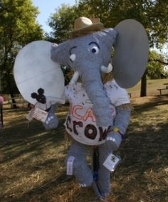 Have you registered your animal- themed scarecrow yet?!