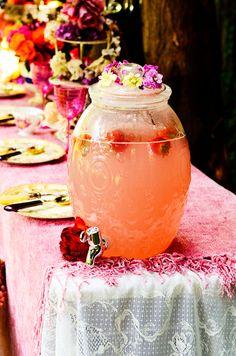 Shirlie Kemp: Magical Woodland Tea Party Table