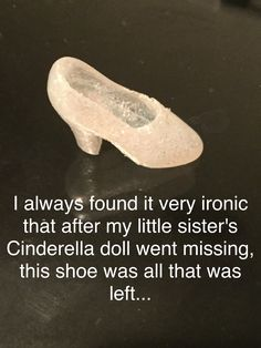 This is me. I have 1 shoe that's it!