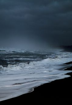 This morning on the beach (by Sverrir Thorolfsson).