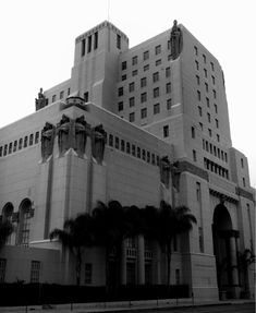 (ca. 2011)**# - Exterior view of the Park Plaza Hotel located at 607 Park View Street just off Wilshire Boulevard.