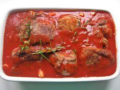 Łopatka wieprzowa w sosie pomidorowym z piekarnika | Smaki Weroniki