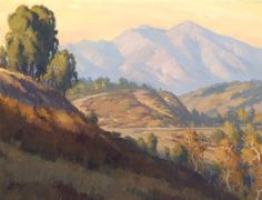 "16th Annual Laguna Beach Plein Air Painting Invitational (2014) ""Fine Art Connoisseur Magazine Award"" presented to  Michael Obermeyer for ""Autumn Afternoon"""