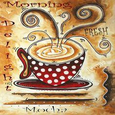 Morning Delight Original Painting MADART.