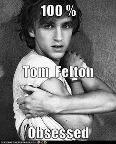 100 % Tom  Felton  Obsessed