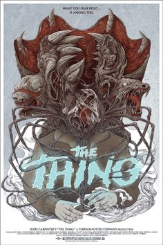 "John Carpenter's, ""The Thing"" (1982). Still one of the most groundbreaking special effects films I've ever seen."