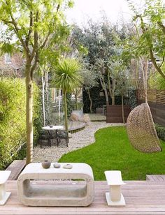 narrow garden ideas - Google Search