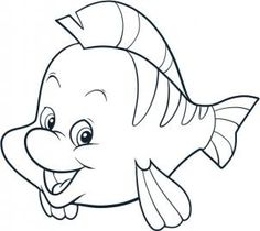 Disney - How to Draw Flounder
