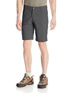 Columbia Men's Silver Ridge Stretch Shorts, Grill, 32 x 10. For product info go to:  https://all4hiking.com/products/columbia-mens-silver-ridge-stretch-shorts-grill-32-x-10/
