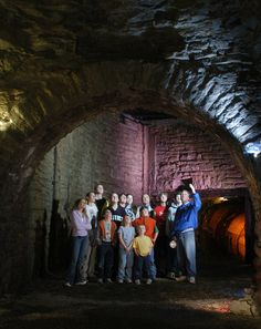 Lockport Cave & Underground Boat Ride   Experience History Come To Life Along The Erie Canal