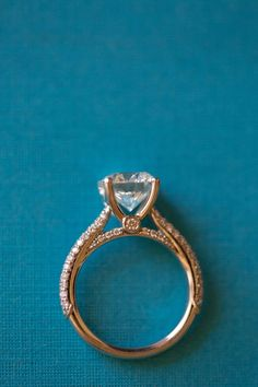 Old Vintage Engagement Ring from the 1920s. #Gatsby #Vintage