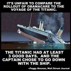 Obamacare--our 'captain' chose not to go down with the 'ship' !!!!! AMERICA HAS A SAVIOR!! IT IS NOT OUR PRESIDENT!!!! 2Chronicles 7:14