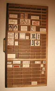 Stamp storage - simplyAutumn