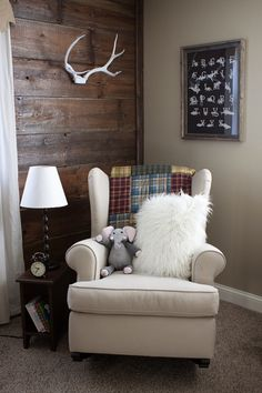 I am getting so excited to remodel Kaden's room from an infant nursery to a woodland themed toddler room!!!