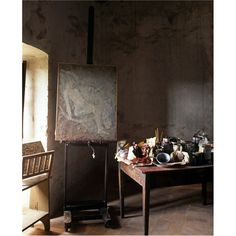Balthus' Studio (Castello di Monte Cavello) by Paul Barker