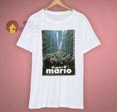 e407d5fa82c Cheap Super Mario The Movie Vintage T Shirt. mpcteehouse.com