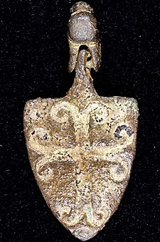 A Medieval horse pendant © Courtesy Durham University Library