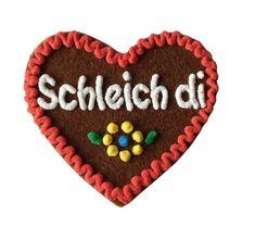 Brosche Anstecknadel Herz Herzerl Heart Brooch Wiesn-Accessoire in 3 Farben