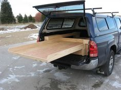 #Vented #Windows - A truck cap with vented and hinged windows gives you the freedom to customize your truck bed. Being able to ventilate the interior means you can use it for just about anything—even as a place to sleep.