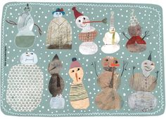 Collection of Snowmen - Beatrice Alemagna