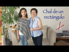 Tutorial Chal rectangular a crochet - YouTube