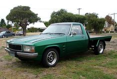 Green Holden WB one tonner