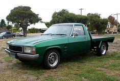 Green Holden WB one tonner