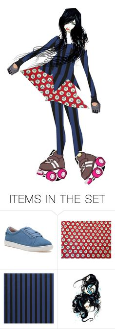 """""""Roller Derby #1"""" by diannecollier ❤ liked on Polyvore featuring art and polyvoreeditorial"""