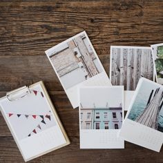 Enjoy your photos year round in premium quality | Wooden Calendar by @artifactuprsng